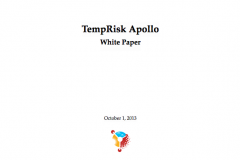 TempRisk Apollo White Paper